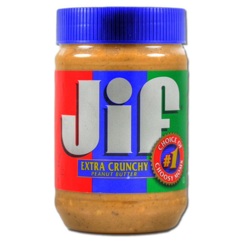 JIF Peanut Butter Extra Crunchy 454g