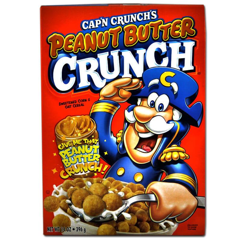 Cap N Crunch Peanut Butter 355g