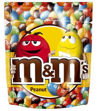 M&Ms Peanut 165gram