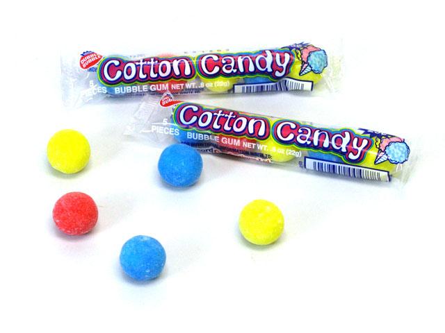 Dubble Bubble Cotton Candy Bubble Gum 3 Flavour