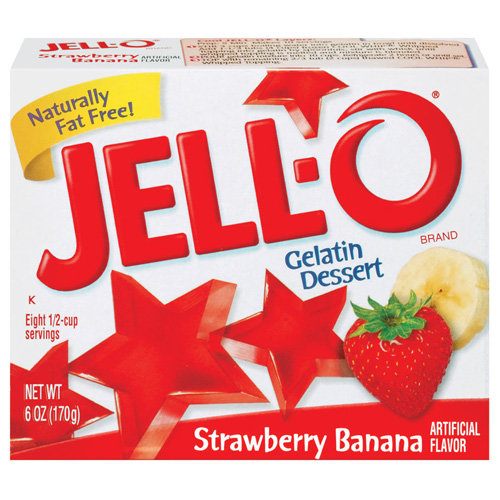 Jello Strawberry-Banana 85g