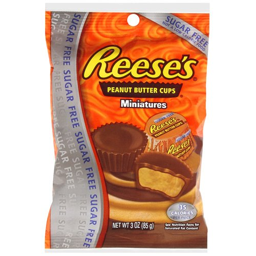 Reeses Sugar Free Peanut Butter Cup Miniatures 85g