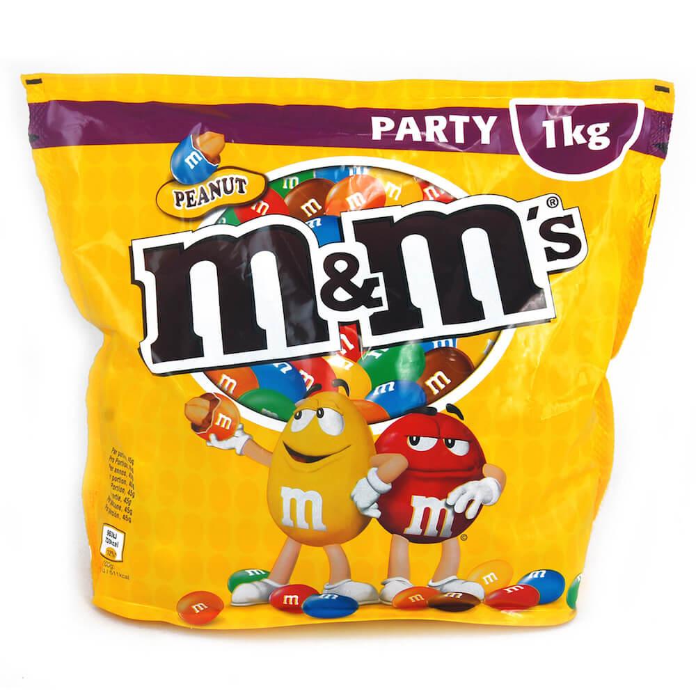 M&Ms Peanut 1kg
