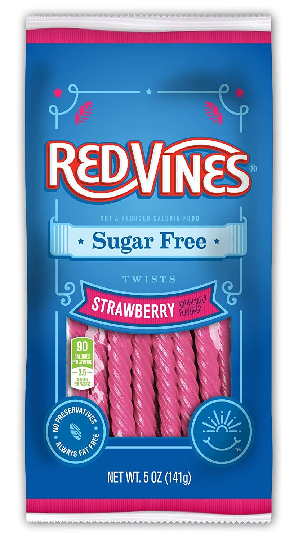 Red Vines Strawberry Sugar Free 142gram