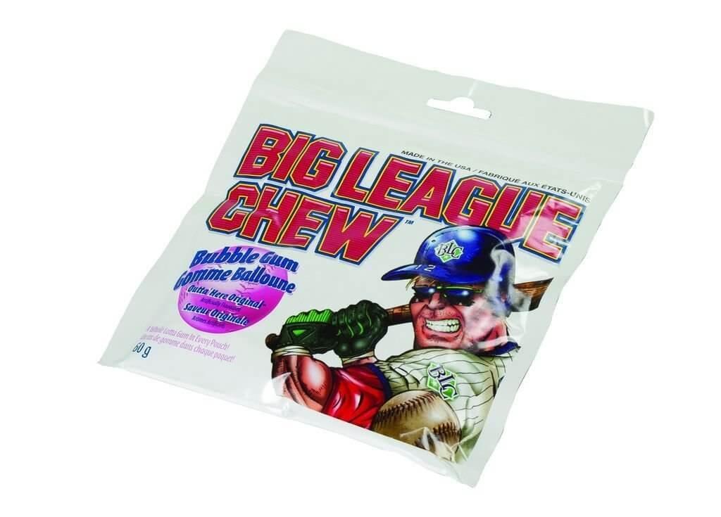 Big League Chew Bubble Gum Original 60gram