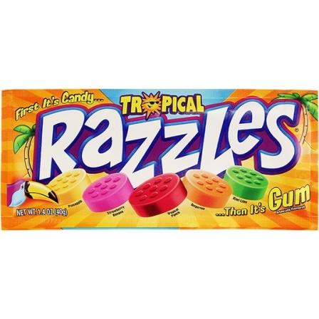 Razzles Tropical 40g