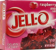 Jello Raspberry 85g