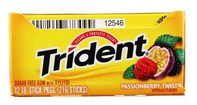 Trident Passion Berry Twist