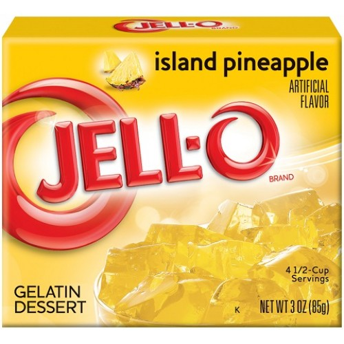 Jello Island Pineapple 85gram