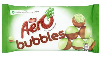 Aero Bubbles Mint Chocolate Bag 36g