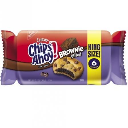 Chips Ahoy Brownie Filled Cookies 105g