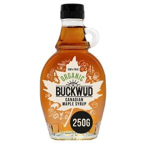 Buckwud Organic Maple Syrup 250G