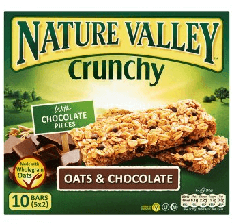 Nature Valley Crunchy Oats & Dark Chocolate