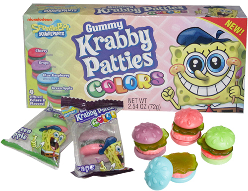 Gummy Krabby Patties Colors Theater Box 72g