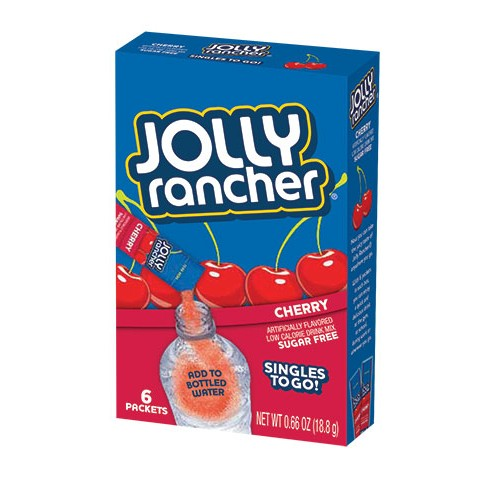 Jolly Rancher Singles to Go 6 pack - Cherry