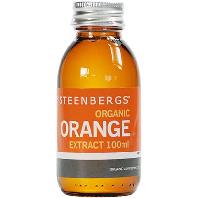 Steenbergs Organic Orange Extract 100ML
