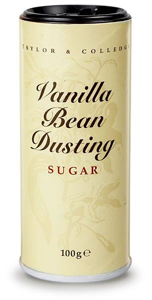 Taylor & Colledge Vanilla Bean Dusting Powder 100G