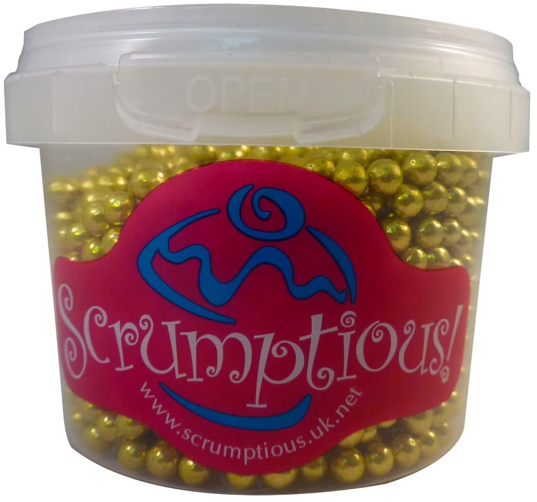 Scrumptious Gold Pearls 70G