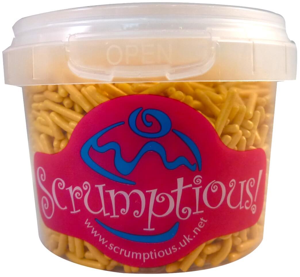 Scrumptious Gold Sprinkles 80G