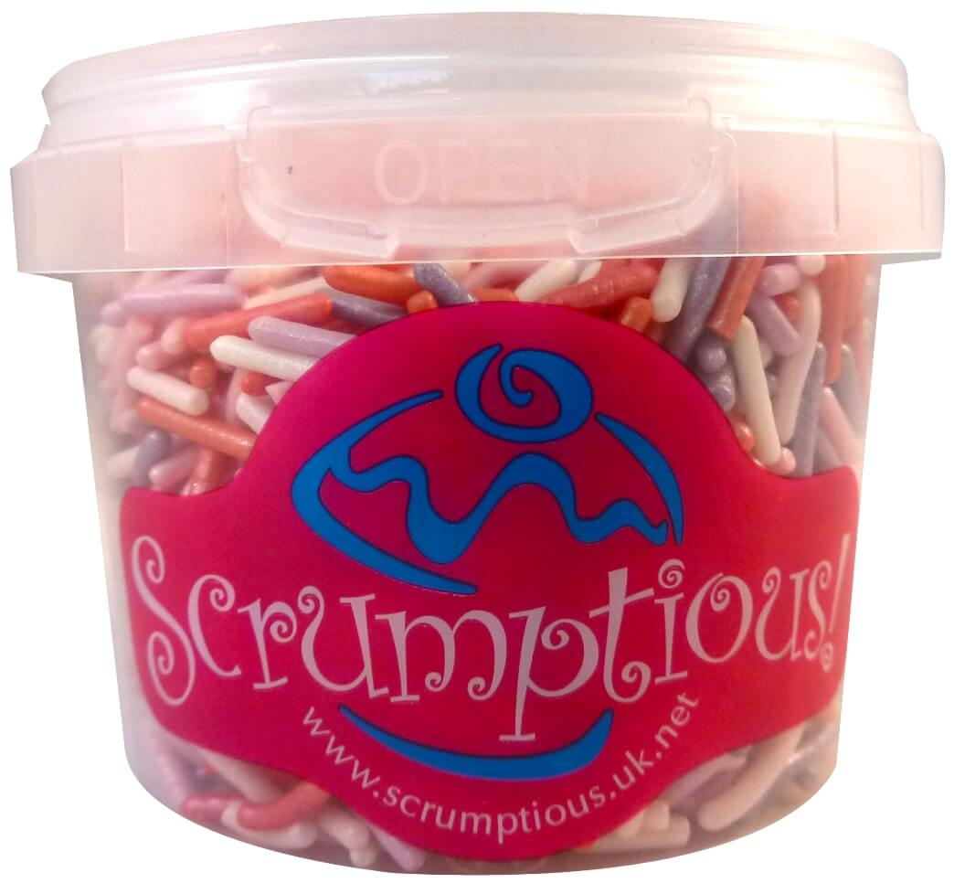 Scrumptious Romance Mix Sprinkles 80G