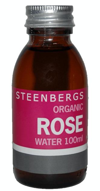 Steenbergs Organic Rose Water 100ML