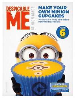 Despicable Me Make Your Own Minion Cupcakes 225g