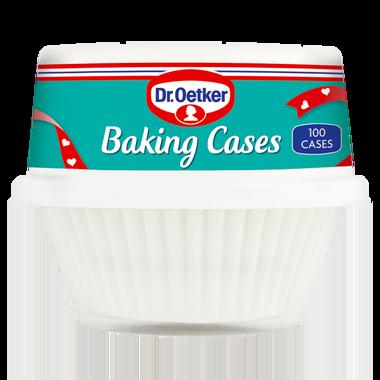 Dr. Oetker Baking Cases 100 White Cases