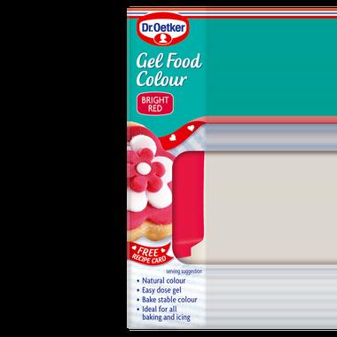 Dr. Oetker Gel Food Colour Red 10g