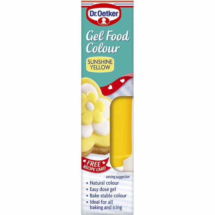 Dr. Oetker Gel Food Colour Yellow 10g