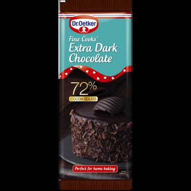 Dr. Oetker Fine Cooks Extra Dark Chocolate 150g
