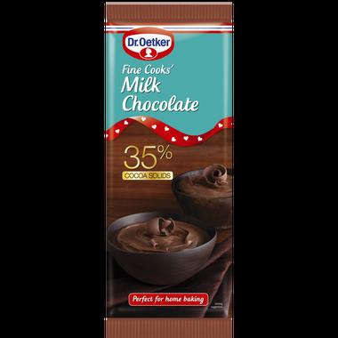 Dr. Oetker Fine Cooks Milk Chocolate 150g
