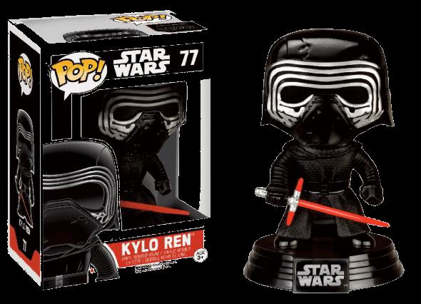 Pop! Star Wars: The Force Awakens - Kylo Ren Helmet limited edition [77]