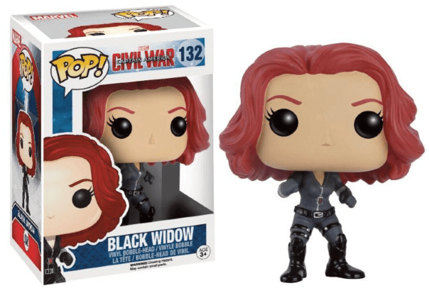 Pop! Marvel: Captain America: Civil War - Black Widow [132]