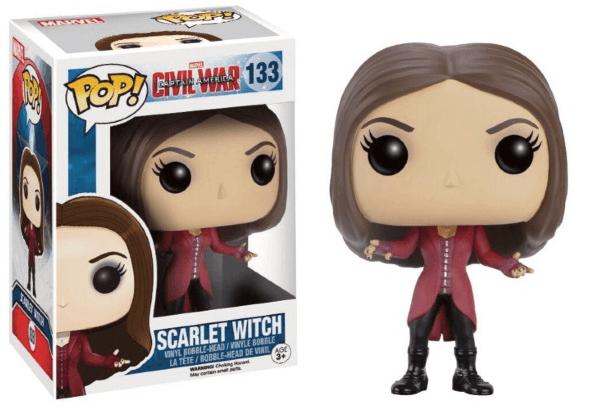 Pop! Marvel: Captain America: Civil War - Scarlet Witch [133]