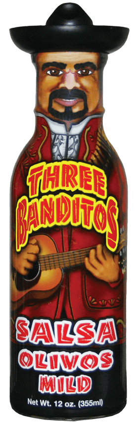 Three Banditos Salsa Olivos