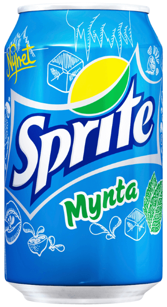 Sprite Mynta 33cl