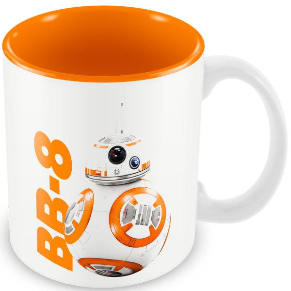 Star Wars The Force Awakens: BB 8 White Orange Ceramic Mug