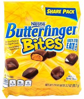 Bild av Butterfinger Bites Bag 90gram