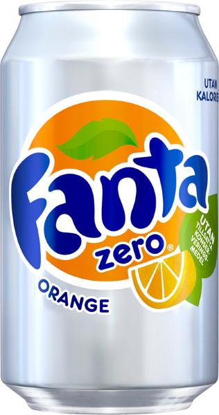Fanta Orange Zero 33c