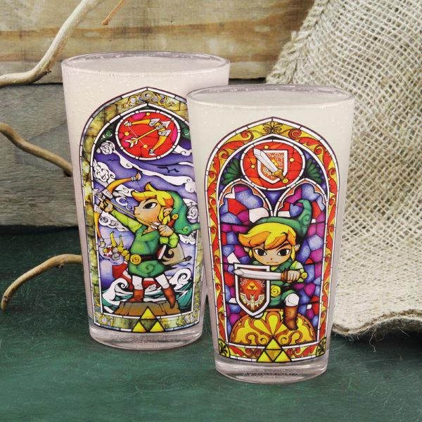 The Legend of Zelda glas - Links Glass