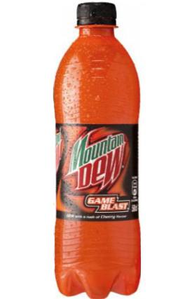 Mountain Dew Game Blast 50cl