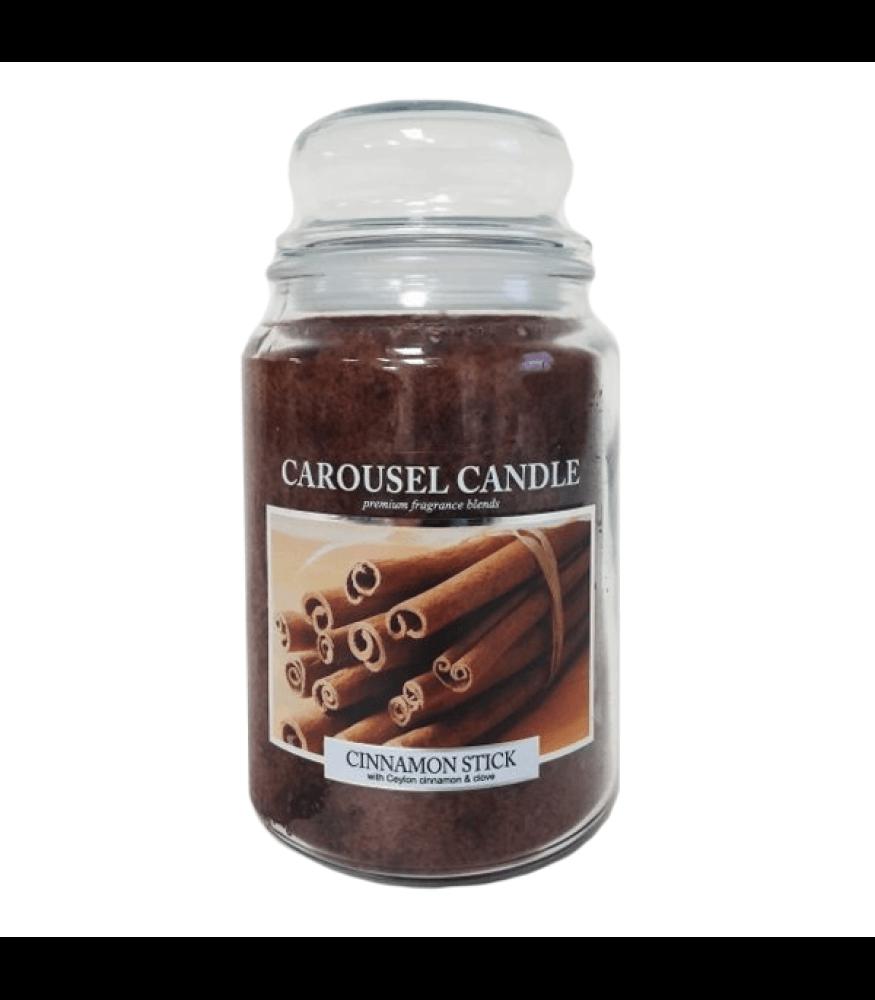 Carousel Candles - Cinnamon Stick Large Jar