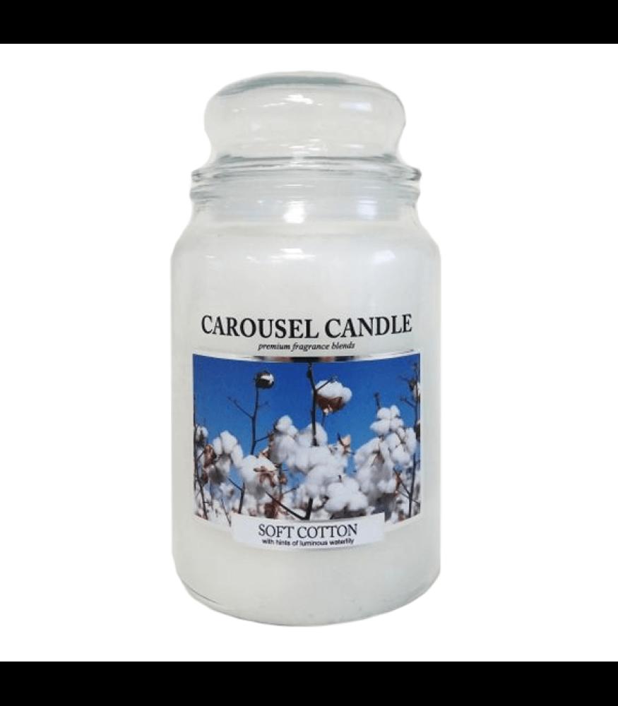 Carousel Candle - Soft Cotton Large Jar