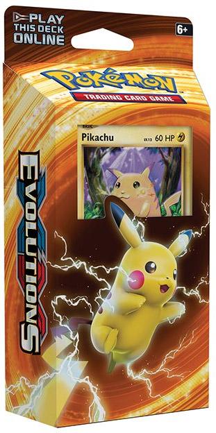 Pokemon XY12 Evolutions Theme Deck - Pikachu