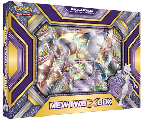 Pokemon Mewtwo EX Collection Box