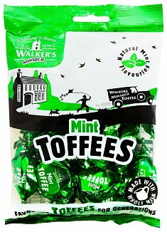 Walkers Mint Toffees Bag 150g