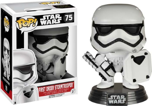 Pop! Star Wars: The Force Awakens - First Order Stormtrooper with Shield [75]