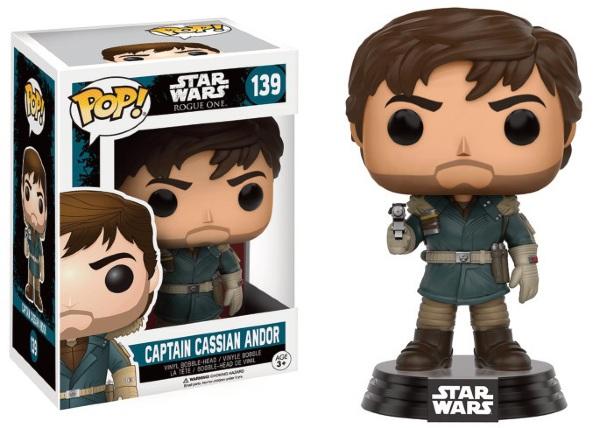 Pop! Star Wars: Rogue One - Captain Cassian Andor [139]