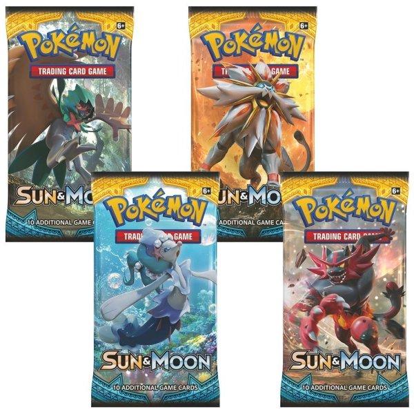 Pokemon Sun & Moon Booster (1 pack)