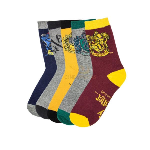 Harry Potter Socks 5-Pack strumpor (storlek 37-45)